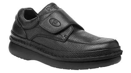 Propet's Men Diabetic Casual Shoes - Scandia Strap M5015 - Black