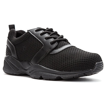 Propet's Men Active Walking Shoes - Stability X- MAA012M - Black
