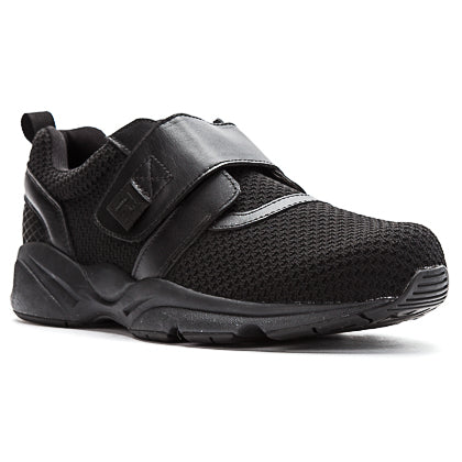 Propet's Men Active Walking Shoes - Stability X Strap- MAA013M - Black