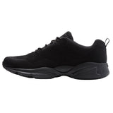 Propet's Men Active Walking Shoes - Stability Fly- MAA032M - Black