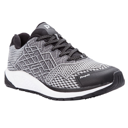 Propet's Men Diabetic Walking Shoes - Propet One MAA102M - Black/Silver