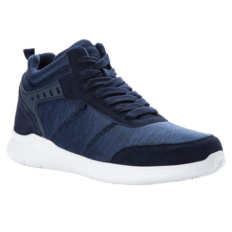 Propet's Men Diabetc Active Shoes - Viator Hi  MAA112M - Navy