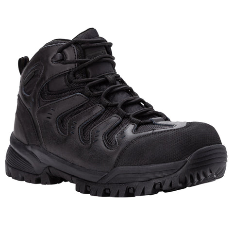 Propet's Men Diabetic Work Boot - Sentry MBU032M- Black