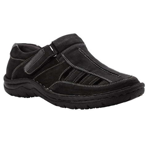 Propet's Men Diabetic Sandals - Jack MSA013S-Black
