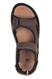 Propet's Men Water Friendly Sandals -Daytona MSV013L- Brown