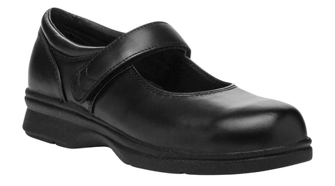 Propet Women's Diabetic Casual Shoe- Mary Jane W0029- Black