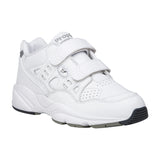 Propet Women Diabetic Walking Shoes- Stability Walker Strap W2035 - White