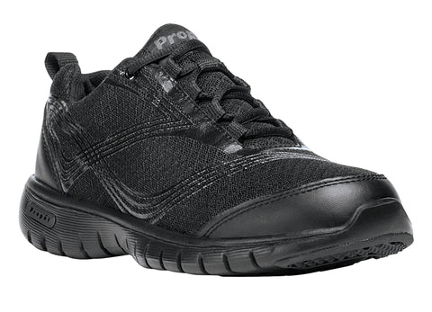 Propet Women's Walking Shoe- Travelite W3247- Black