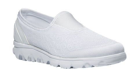 Propet Women's Active Shoe - TravelActiv Slip On W5104 - White