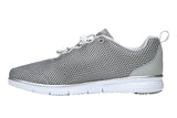 Propet Women Diabetic Active Shoes - TravelFit Prestige WAA002M - Silver/Black
