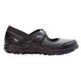 Propet Women Diabetic Mary Jane Shoes - Onalee WAA003P - All Black Smooth