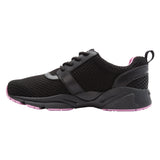 Propet's Women Active Walking Shoes - Stability X- WAA032M - Black/Berry