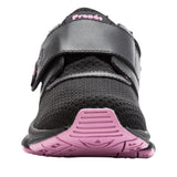 Propet's Women Active Walking Shoes - Stability X Strap- WAA033M - Black/Berry