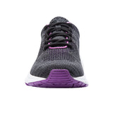 Propet Women's Stability Diabetic Shoe - Stability Fit WAA072M- Black/Berry