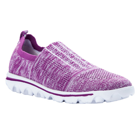 Propet Women's Sneaker TravelActiv Stretch - WAT024M - Berry