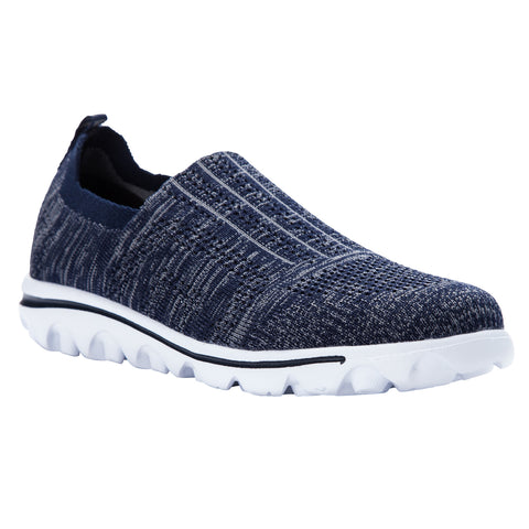 Propet Women's Sneaker TravelActiv Stretch - WAT024M - Navy