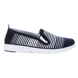 Propet Women's Casual TravelFit Slip on - WAT044M - Navy/White