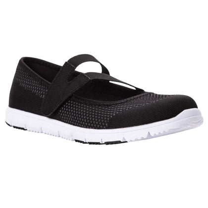 Propet Women's Active TravelWalker Evo Mary Jane - WAT063M - Black