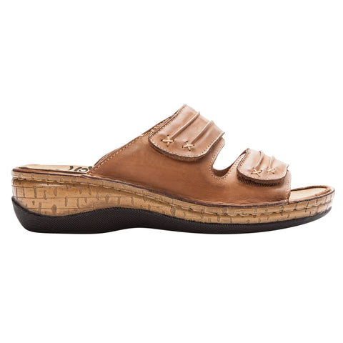 Propet Women's Sandals - June WSO001L- Tan