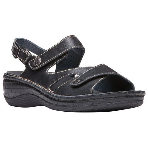 Propet Women's Sandals- Jocelyn WSO003L - Black