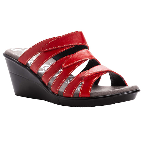 Propet Women's Sandals- Lexie-WSX041L- Red