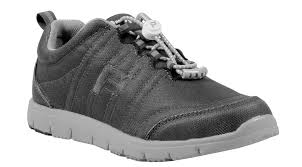 Propet Women's Active Shoe- Travel Walker Canvas W3259- Charcoal