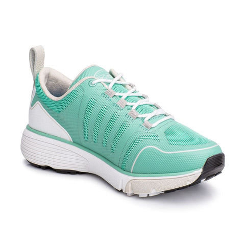 Dr. Comfort Women's Athletic Diabetic Shoe - Grace - Seafoam