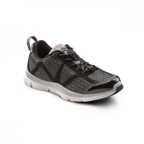 Dr. Comfort Men's Athletic Diabetic Shoes - Jason - Black