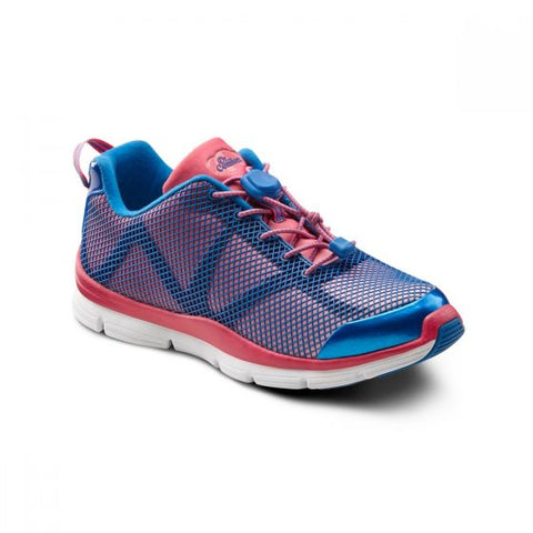 Dr. Comfort Women's Athletic Diabetic Shoe - Katy- Pink