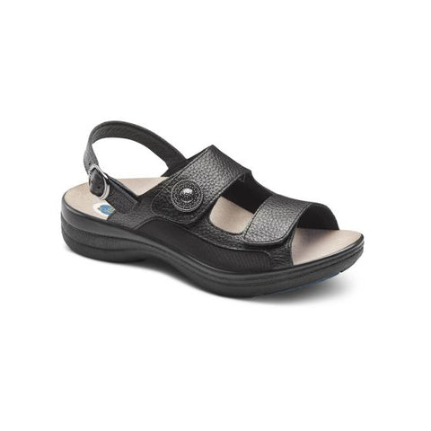 Dr. Comfort Women's Sandals - Lana - Black