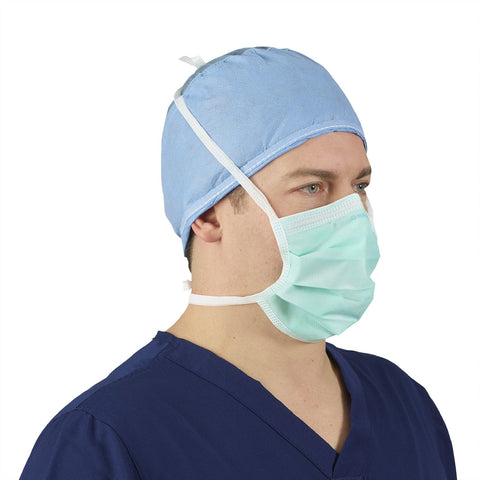 Surgical Tie Level 1 Mask Fluid resistant