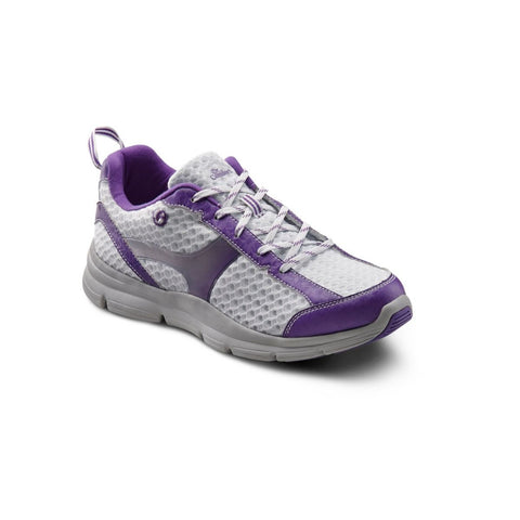 Dr. Comfort Women's Athletic Shoe - Meghan - Purple