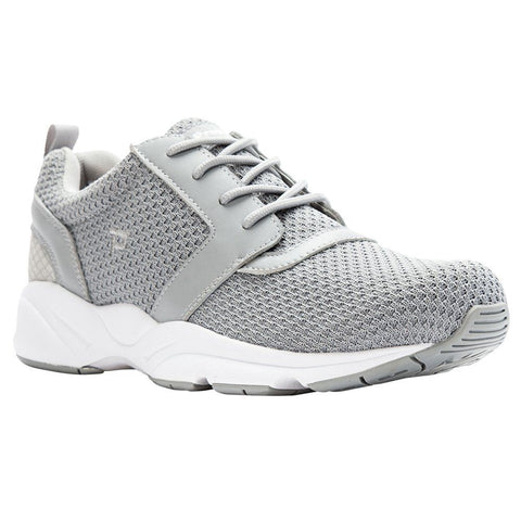 Propet's Men Active Walking Shoes - Stability X- MAA012M - Light Grey