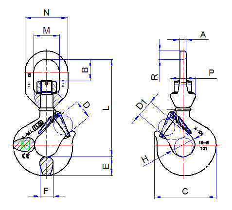 Swivel Hook Diagram