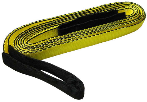 "ATV/UTV Recovery Strap, 1"", Breaking Strength 7,500 Lbs"