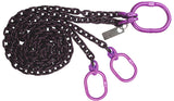 Alloy Sling Chain - Purple Hardware
