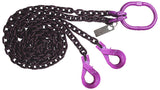 2 Leg Chain Sling  - Purple