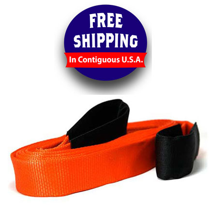 Heavy Duty Recovery Straps Made in USA