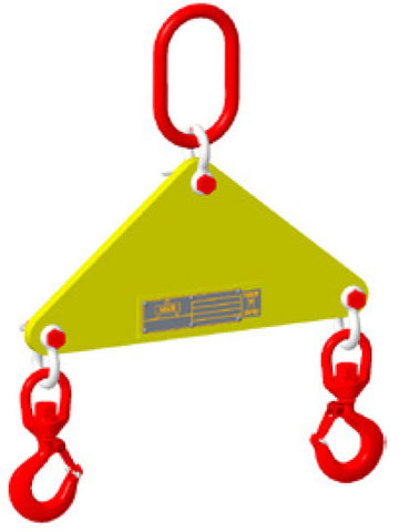 Lift Beam, Small Length with Hooks and Top Link