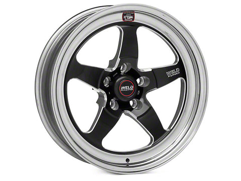 "1994-2017 Mustang (ALL) Weld Racing RT-S S71 17x5"" Drag Wheel - Sold Individually"