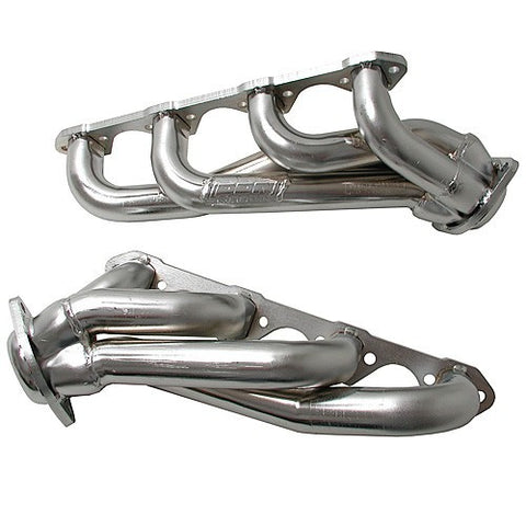 "1994-1995 Mustang GT/Cobra V8 5.0L BBK 1-5/8"" Chrome Unequal Length Shorty Headers"