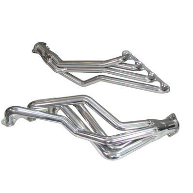 "1979-1993 Mustang V8 5.0L Automatic BBK Silver Ceramic 1-5/8"" Long Tube Headers"