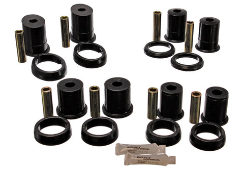1979-1995 Mustang (ALL) Energy Suspension Control Rear Arm w/Oval Bushing Set -Red or Black