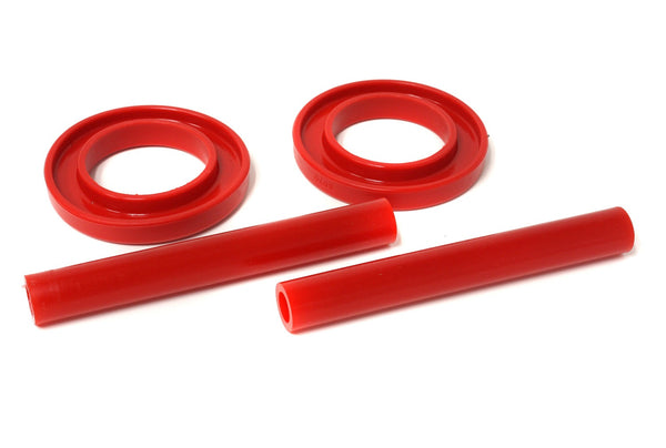 1983-2004 Mustang (ALL) Energy Suspension Front Coil Spring Isolator Set - Red or Black