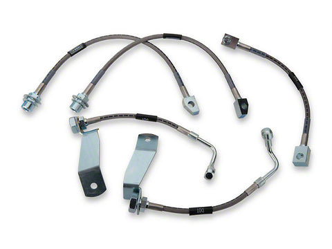 1994-1995 Mustang Cobra V8 5.0L Russell Performance Complete 5-Line Brake Line Kit
