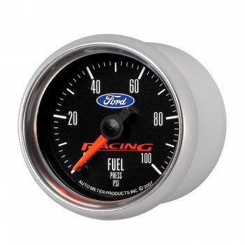 "1979-2017 Mustang (ALL) AutoMeter Ford Racing Fuel Pressure 2-1/16"" Gauge"