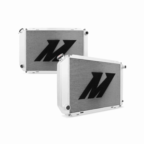 1979-1993 Mustang (ALL w/ Manual Trans) Mishimoto 2 Row Aluminum Radiator