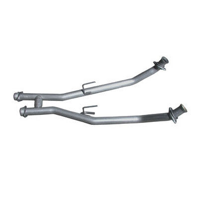 "1996-1998 Mustang GT V8 4.6L BBK 2.5"" Off Road H-Pipe"