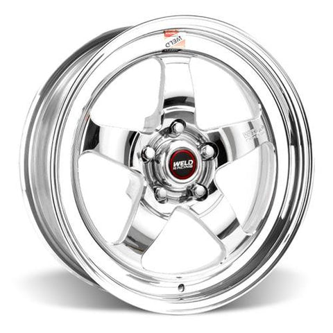 "1994-2017 Mustang Weld Racing RT-S S71 17x5"" Drag Wheel - Sold Individually"