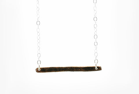 "18"" Horizontal Bar Necklace"